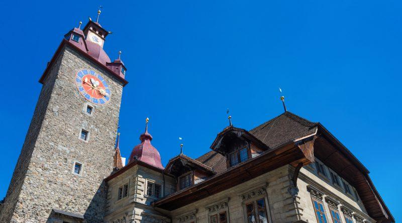 Часовая башня в Люцерне