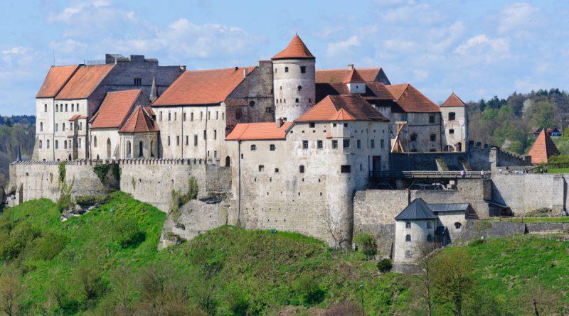 Замок Бургхаузен в Германии
