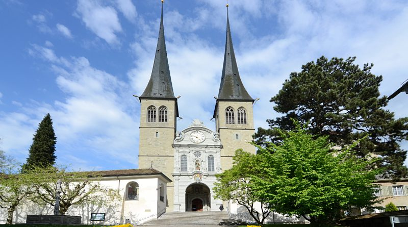 Церковь Святого Леодегара в Люцерне