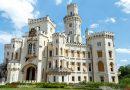 Замок Глубока в Чехии