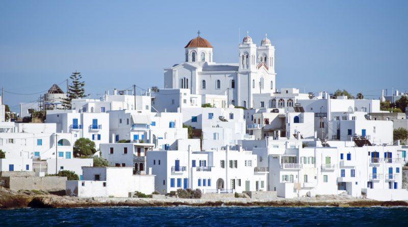 Остров Парос в Греции