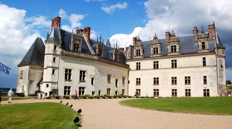 Замок Амбуаз во Франции