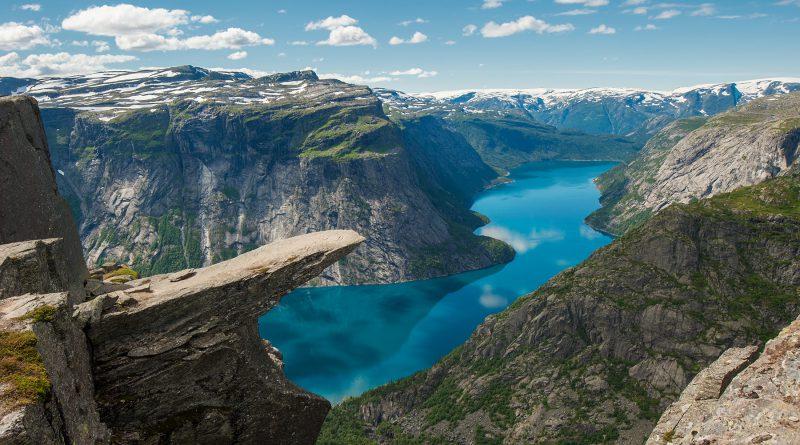 Сказка о норвежских фьордах
