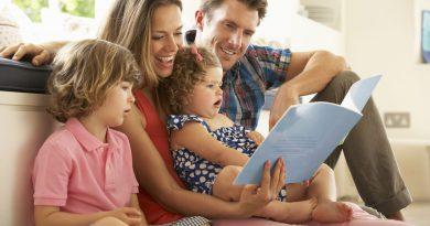 Правильное воспитание ребенка — общение и книги
