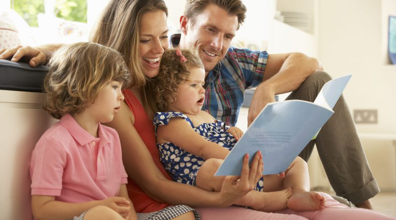 воспитание ребенка — общение и книги