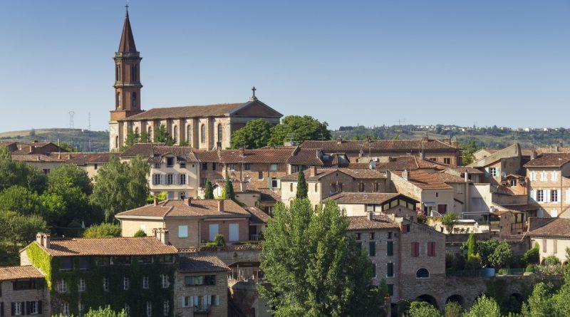 Прелестный французский городок Альби