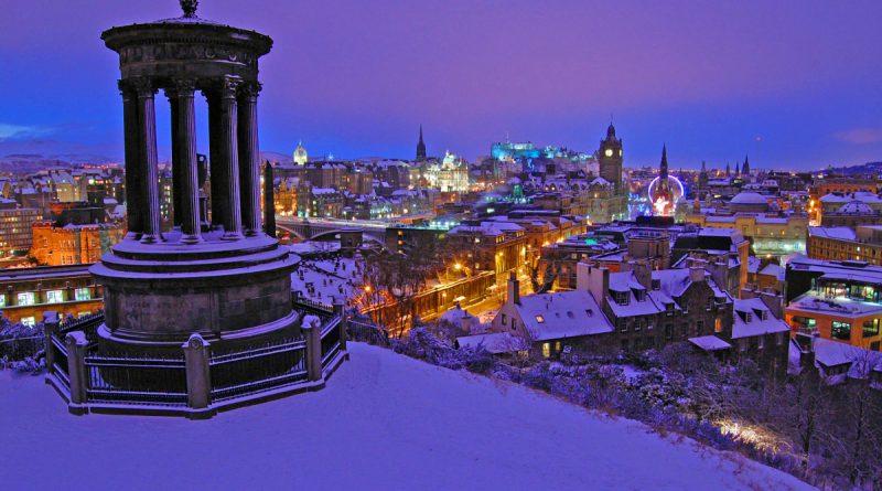 Рождество в Эдинбурге